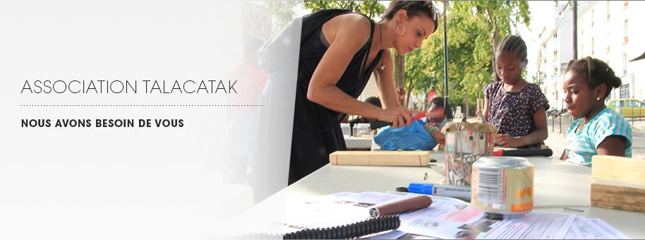 Aider l'assocation Talacatak